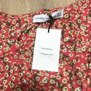 Faithfull the Brand Pants - Faithfull the Brand Cusco Playsuit